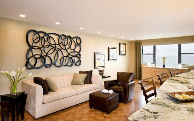 modern living room Wall decor ideas, interior designing institute lucknow