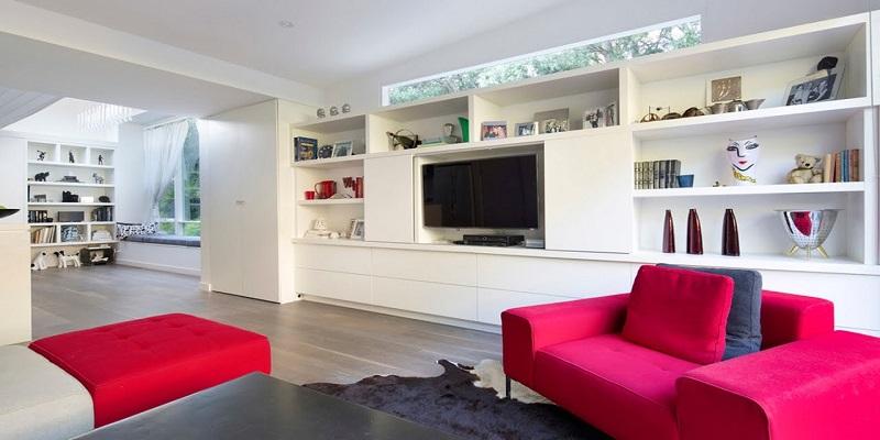Wall units modern living room ideas interior designing dream zone lucknow
